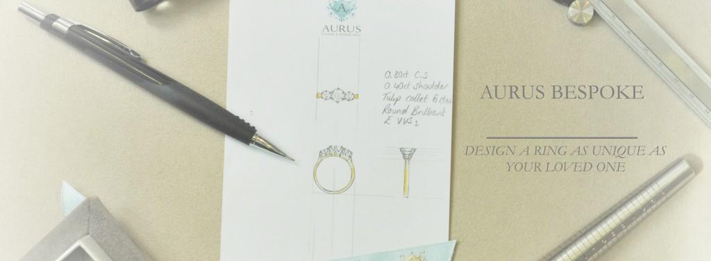 Bespoke engagement ring design service in Clerkenwell, London