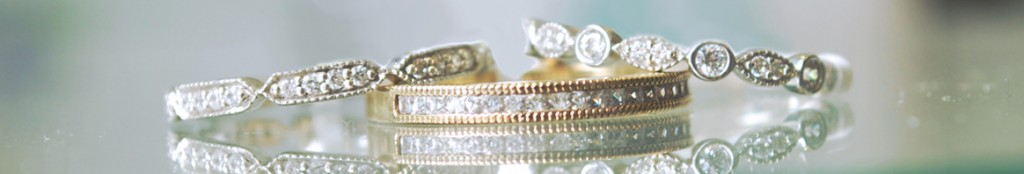 Vintage wedding rings in london