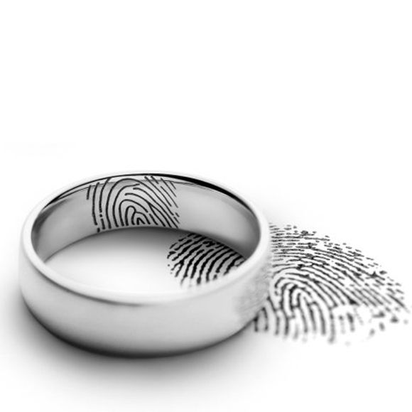 finger print engraving
